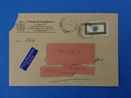 COMUNI D'ITALIA BUSTA DEL 2001 COMUNE DI LONGOBUCCO COSENZA CALABRIA - 2001-10: Marcophilia