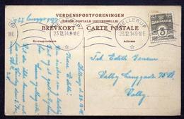 Denmark 1914  Christmas Cards  Mint.44A   23-12 HELLERUP  ( Lot  4201) - 1913-47 (Christian X)