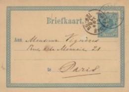 Pays-Bas Entier Postal De 1876 - Postal Stationery