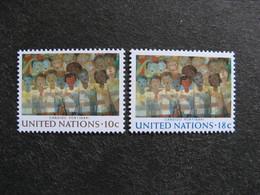 O.N.U. Siège De New-York: TB Paire N° 241 Et N° 242, Neufs XX. - New York -  VN Hauptquartier