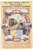 Amsterdam, Marken, Volendam, (spoorwegen, Trein, Railway, Train, Eisenbahn, Ferro Via ) - Volendam