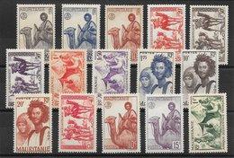 Mauritanie Entre N°73 & N°130 1938-46 ** - Mauritania (1906-1944)