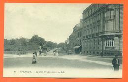 """Cpa 51 épernay """" La Rue Des Mariniers """" - Epernay"""