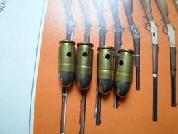9 COURT  NEUTRALISEES - Armes Neutralisées
