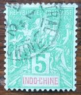 Indochine - YT N°17 - 1900 - Oblitéré - Oblitérés