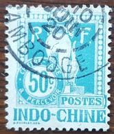 Indochine - YT Taxe N°13 - 1908 - Oblitéré - Timbres-taxe
