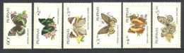 PHILIPPINES 1984 BUTTERFLIES AND FLOWERS SET MNH - Philippines