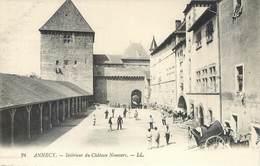 CPA 74 Haute Savoie Annecy Intérieur Du Chateau Nemours - LL. 24 - Neuve - Annecy