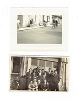 Photographie - Lot 2 - Thème Cyclisme Bicyclette Vélo - Course - GRAINETERIE  - Groupe Personnes 1943 Avril - Ciclismo