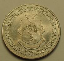 1994 - Guinée République - Guinea Repubic - 50 FRANCS - KM 63 - Guinée