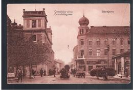 BOSNIA Sarajevo Sarajevo Cemaluša- Ulica  Ca 1915 OLD POSTCARD 2 Scans - Bosnia And Herzegovina