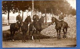 Carte Photo  -   Cavalier Français  - 1910 - Militaria