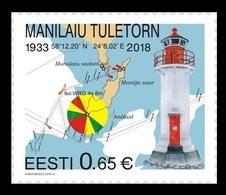 Estonia 2018 Mih. 923 Manilaid Laighthouse MNH ** - Estonie