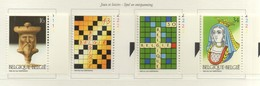 PIA  -  BELGIO  -  1995  : Giochi Di Società  - (Yv  2592-95) - Belgique