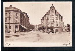 BOSNIA Sarajevo Marijin Dvor I Halidov Dvor Ca 1920 OLD POSTCARD 2 Scans - Bosnia And Herzegovina