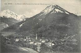 CPA 73 Savoie BOZEL Les Glaciers De La Vanoise Et La Dent Du Villard (2902 M) Non Circulée - Bozel