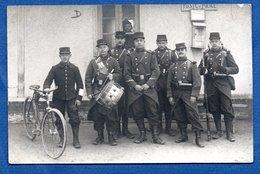 Mourmelon  -  Carte Photo  -   Soldats Devant Poste De Police - Mourmelon Le Grand