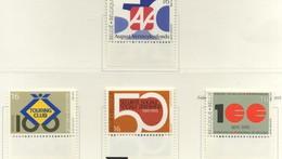 PIA  -  BELGIO  -  1995  : Commemorativi Diversi  - (Yv  2585-88) - Belgium