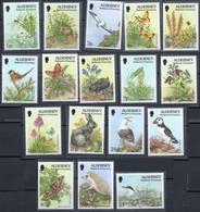 Alderney MiNr. 65-81A - Fauna Und Flora - Postfrisch - Nager