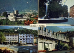 Bellinzona - Formato  Grande Viaggiata – E 9 - TI Ticino