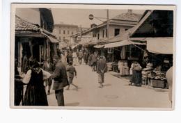 BOSNIA Trafika F. Ceifovic Ca 1920 OLD PHOTO POSTCARD 2 Scans - Bosnia And Herzegovina