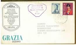 ISOLE FIJI - VISITA DI GIORNALISTI ITALIANI  ANNO 1967 - NON VIAGGIATA - Fiji (1970-...)