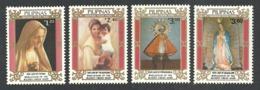 PHILIPPINES 1985 MARIAN YEAR 2000 ANNIVERSARY BIRTH OF VIRGIN MARY SET MNH - Philippines