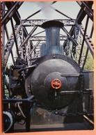 CARTE LOCOMOTIVE - PETIT TRAIN DE LA VALLEE DE LA DOLLER - LIGNE CERNAY SENTHEIM - SCANS RECTO VERSO - Eisenbahnen
