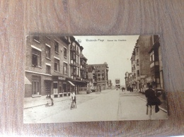 Westende Plage Avenue Des Des Chardons - Cartes Postales