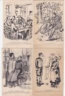 C. LESTIN LOT DE 4 CPA VOIR SCAN ACHAT IMMEDIAT - Illustrators & Photographers
