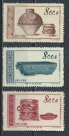 °°° CINA CHINA - Y&T N°1019/21/22 - 1954 °°° - 1949 - ... Repubblica Popolare