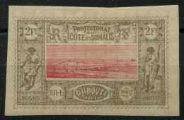 Côte Des Somalis (1900) N 18 * (charniere) - Ongebruikt
