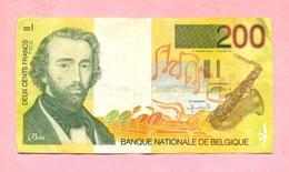 BELGIQUE : 200 FRANCS / DEUX CENTS FRANCS  ADOLPHE MAX  - TRES BON ETAT - Autres
