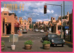 Santa Fe - New Mexico - Porsche - Photo RICHARD STOCKTON - Distributed By SMITH SOUTHWESTERN - 1991 - Postcards