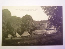 VERONE  (Lot-et-Garonne)  :  Camp De Vacances  -  Un Coin Du Camp  -  Les TENTES   - France