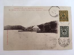Colonies Françaises - Nouvelle Calédonie - Maison Du Docteur Et Village A Pam - Le Diahot - Panorama - Nouvelle Calédonie