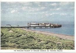 THE FISHGUARD MAILBOAT AT ROSSLARE HARBOUR - CO. WEXFORD - IRELAND - Wexford