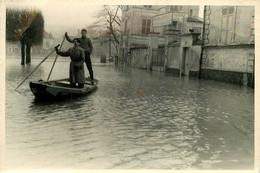 77 LAGNY PHOTO GRAND FORMAT 1955 INONDATION DE LAGNY VOIR  IMAGES - Lagny Sur Marne