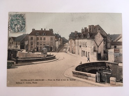 Nuits Saint Georges - Place Du Pont Et Rue De Beaune - Nuits Saint Georges