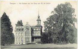 EVERGEM - Het Kasteel Van Het Dorp Aan M. De Limon - N° 13318 L. Verdegem-Van Leeuwen - Evergem