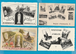 BELGIË Groeten Uit, Zichtjes, Bonjour De, Vues, Lot Van 60 Postkaarten, Cartes Postales - Cartes Postales