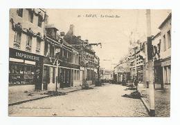 Nord - 59 - Bavay -la Grande Rue Imprimerie - Bavay
