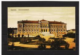 LKW562 KARTE POSTALE JAHR 1909 UPSALA UNIVERSITETET GEBRAUCHT SIEHE ABBILDUNG - Schweden