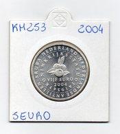 Paesi Bassi - 2004 - Moneta 5 Euro - 50° Anniversario Statuto Del Regno Dei Paesi Bassi - Vedi Foto - (MW1908) - Paesi Bassi