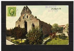 LKW564 KARTE POSTALE JAHR 1909 WISBY, St. Nikolaus GEBRAUCHT SIEHE ABBILDUNG - Schweden