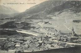CPA  73 Savoie Thermignon (sic) Termignon La Vanoise Vue Générale Neuve - Andere Gemeenten