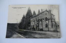 15 CANTAL MAURS. La Gare. 1917. - Francia