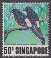 Singapore 328 1978 Singing Birds 50c, Used - Singapore (1959-...)