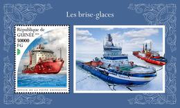 Guinea. 2018 Icebreakers. (527b) - Schiffe