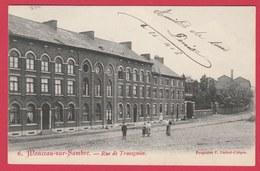 Monceau-sur-Sambre - Rue De Trazegnies ... Quartier - 1907 ( Voir Verso ) - Charleroi